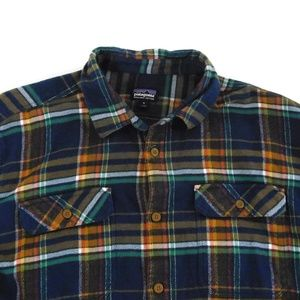Patagonia Shirts - Patagonia Fjord Men's XL L/S Flannel Plaid Shirt